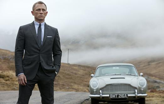 دنیل کریگ سر صحنه جیمز باند جدید
