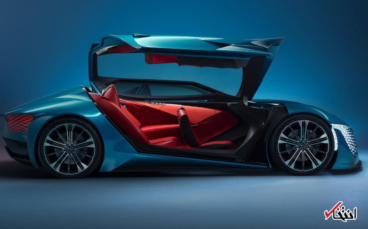 گروه خودروسازی «DS» یک خودرو ویژه «فرمول E» طراحی کرد