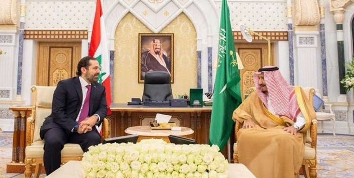 دیدار سعد الحریری با شاه سعودی در ریاض