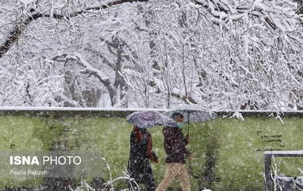 تهرانی ها پنجشنبه برفی می شوند| هوای تهران پنجشنبه برفی است