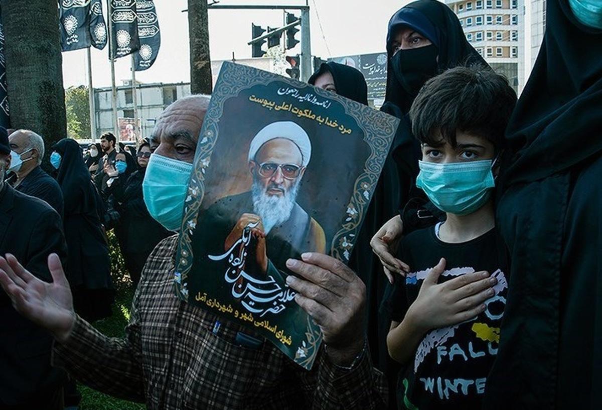 پیکر علامه حسنزاده آملی در روستای ایرا به خاک سپرده شد