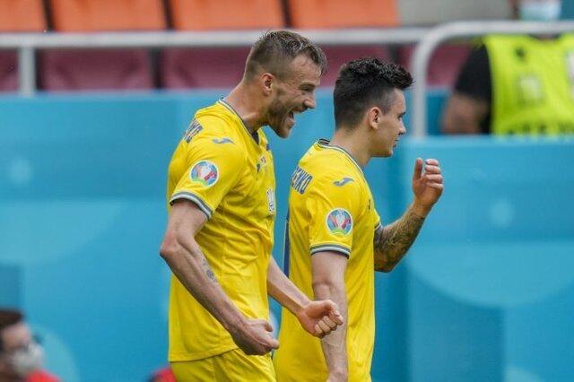 اوکراین با خوششانسی به مرحله یک هشتم نهایی صعود کرد