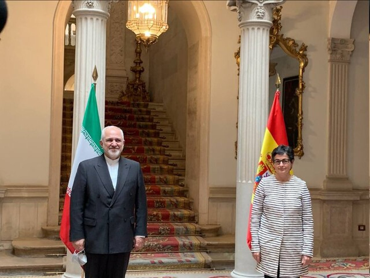 دیدار ظریف و وزیر خارجه اسپانیا در مادرید