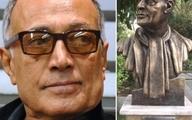 چرا سردیس عباس کیارستمی بدون عینک ساخته شد؟