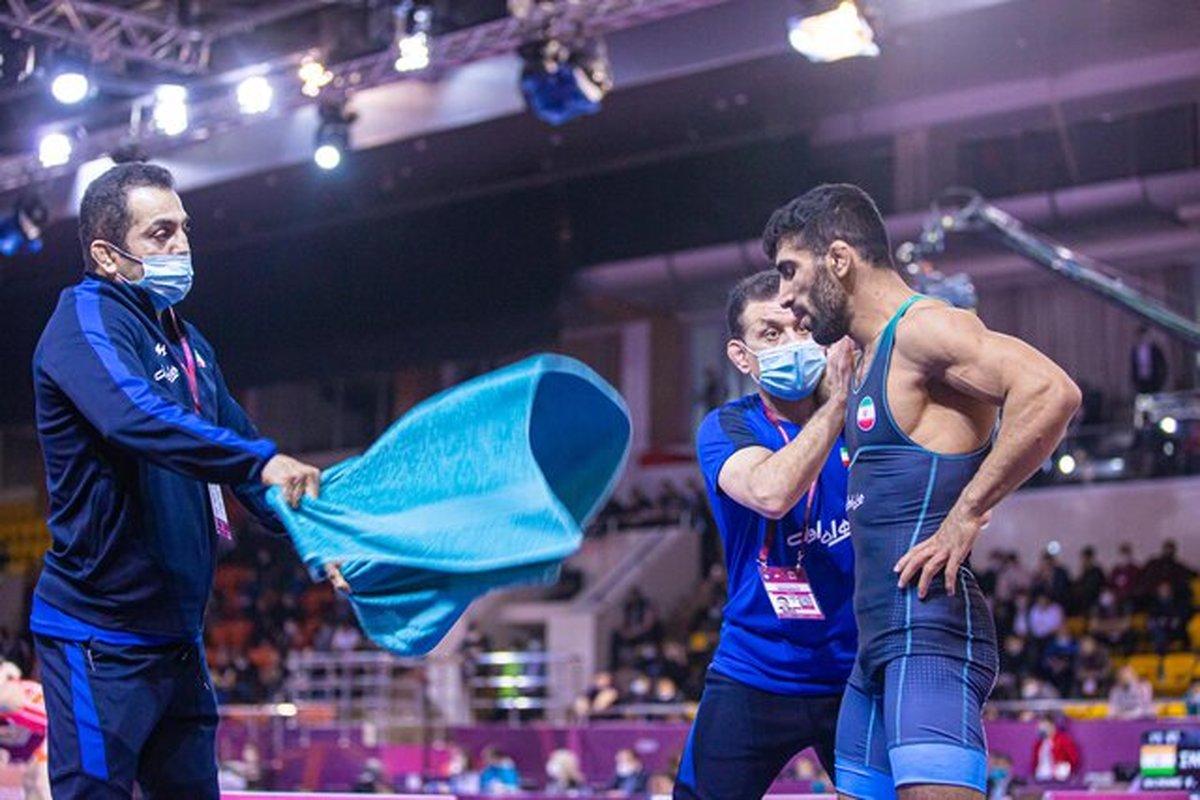 قیاسی: میدانستم برابر یزدانی پیروز میشوم  هدفم کسب مدال المپیک است