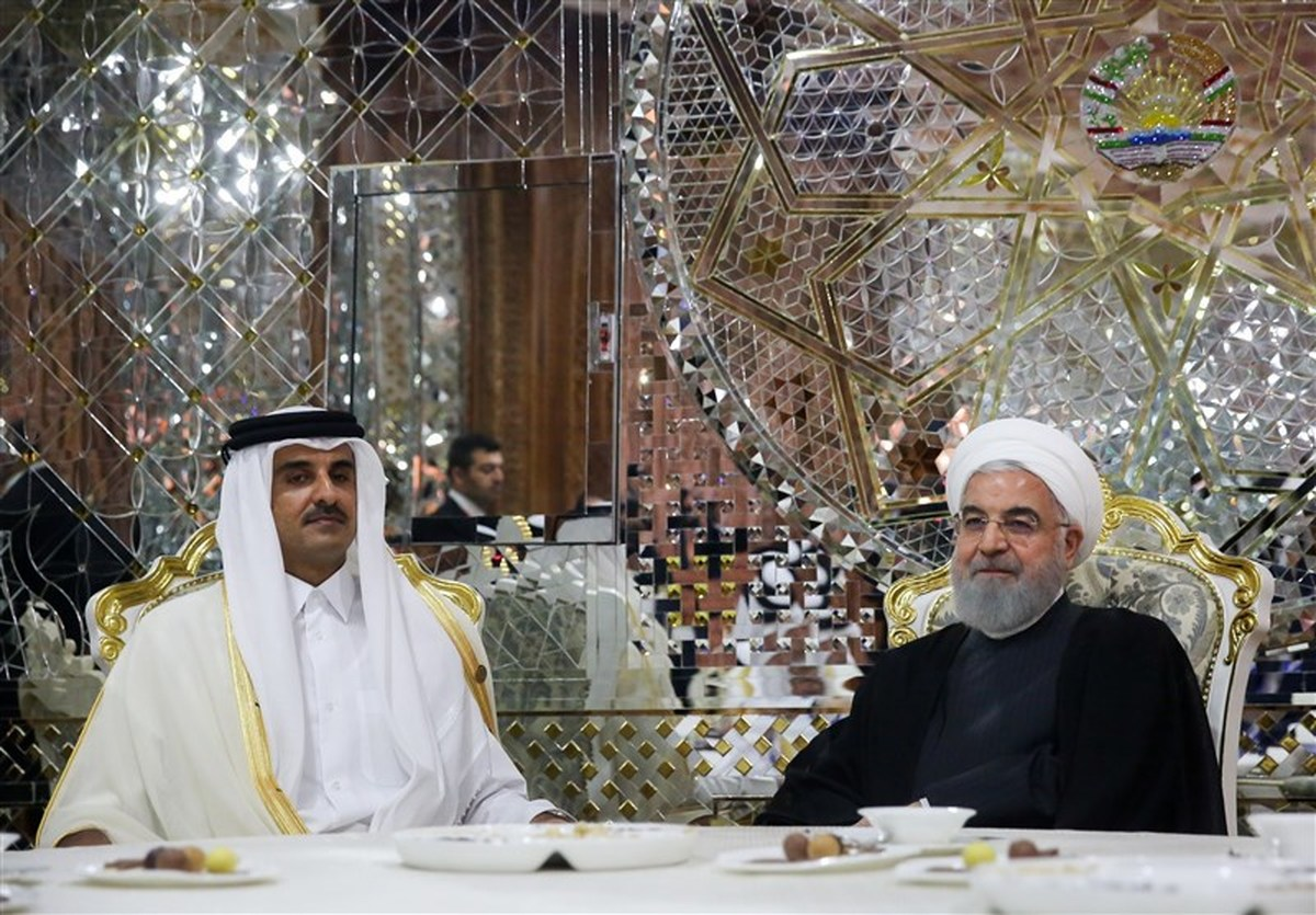 روحانی پاسخ نامه امیر قطر را داد