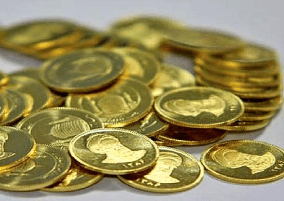 کاهش ۵۸۰ هزار تومانی قیمت سکه