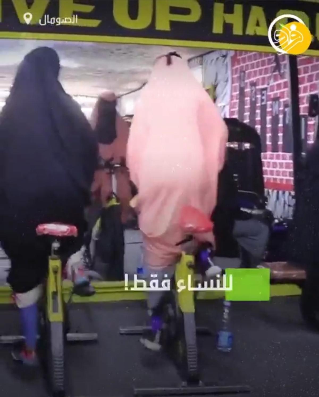 بدنسازی زنان محجبه + ویدئو
