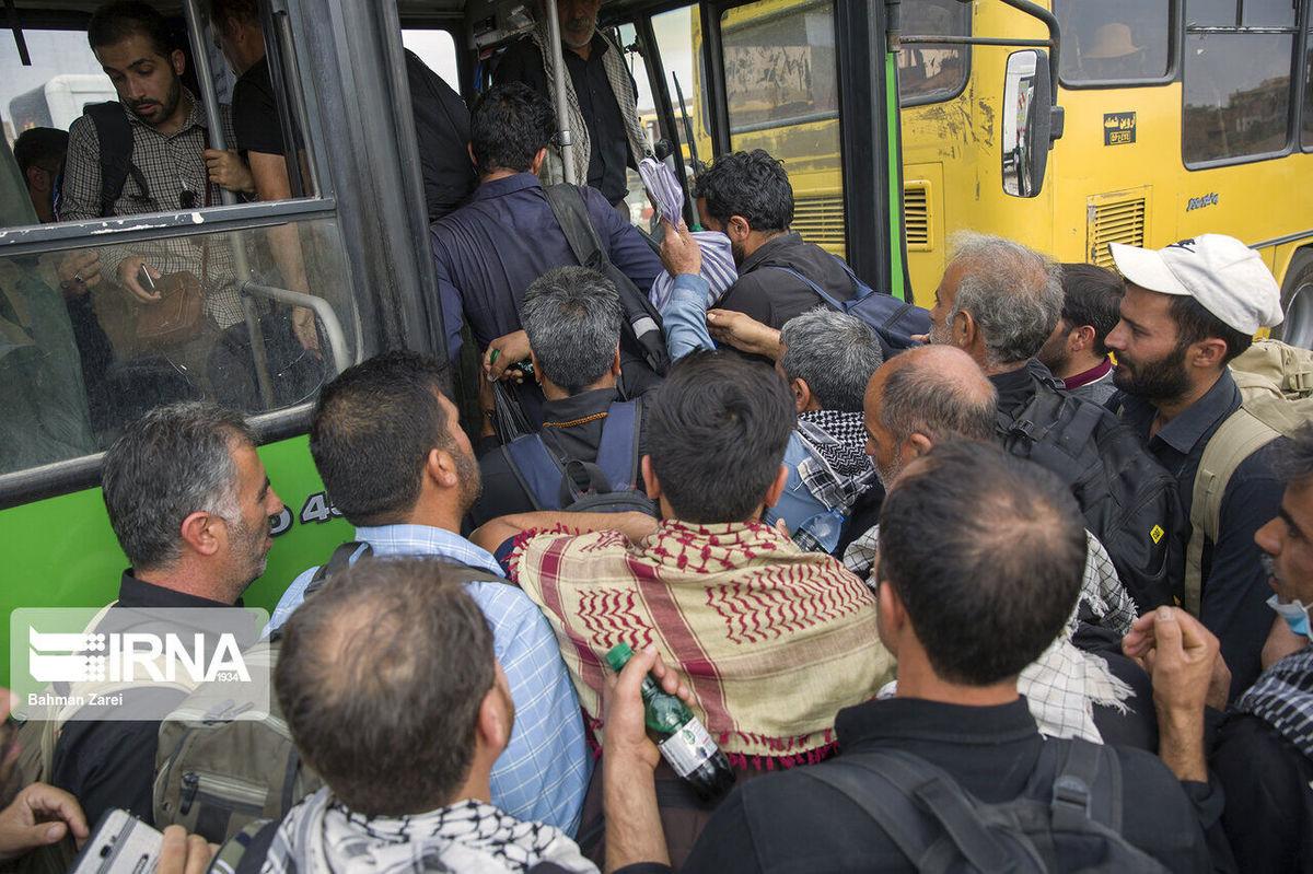 ۳۵ تن از ۱۰۰ زائر فوتی اربعین در تصادفات جان باختند