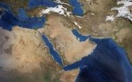 ایالت های آبی و قرمز خاورمیانه
