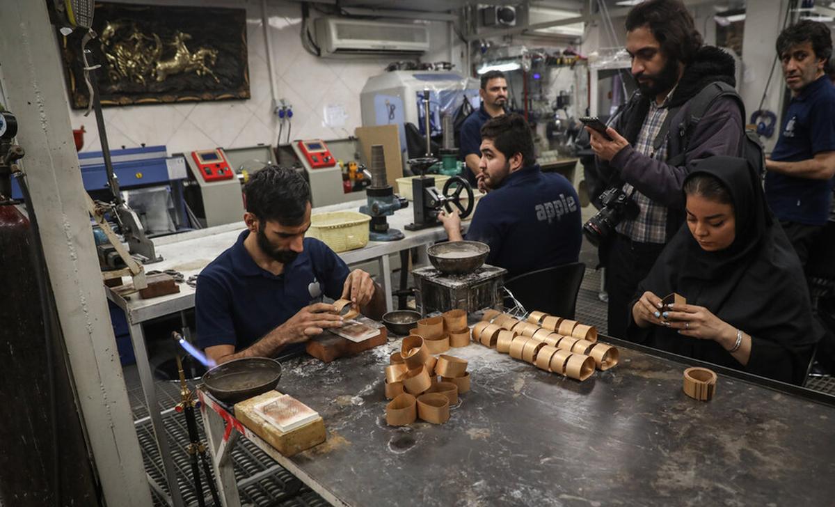 کارگاه تولید طلا در تهران