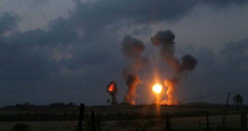 نوار غزه توسط جنگنده های صهیونیستی بمباران شد