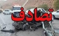 تصادف در جاده پلدختر - خرم آباد یک کشته و هشت مصدوم برجا گذاشت