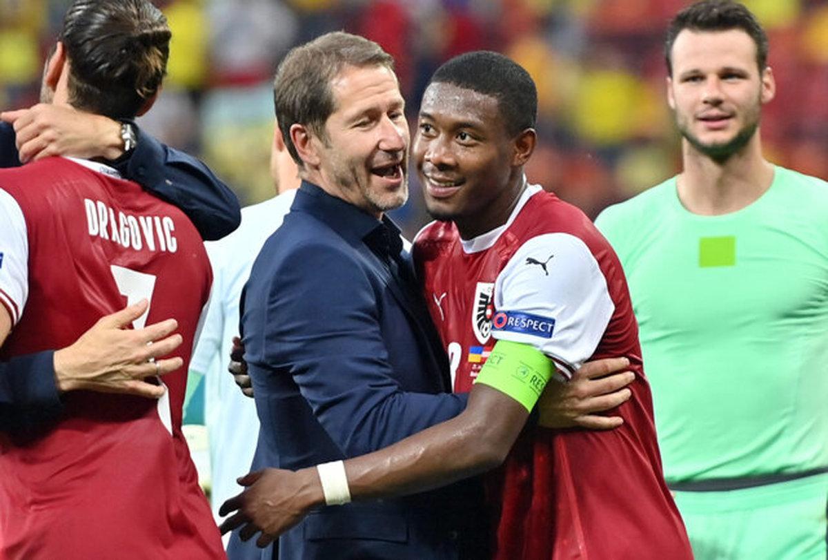 سرمربی اتریش: بازی در ومبلی برابر ایتالیا منطقی نیست