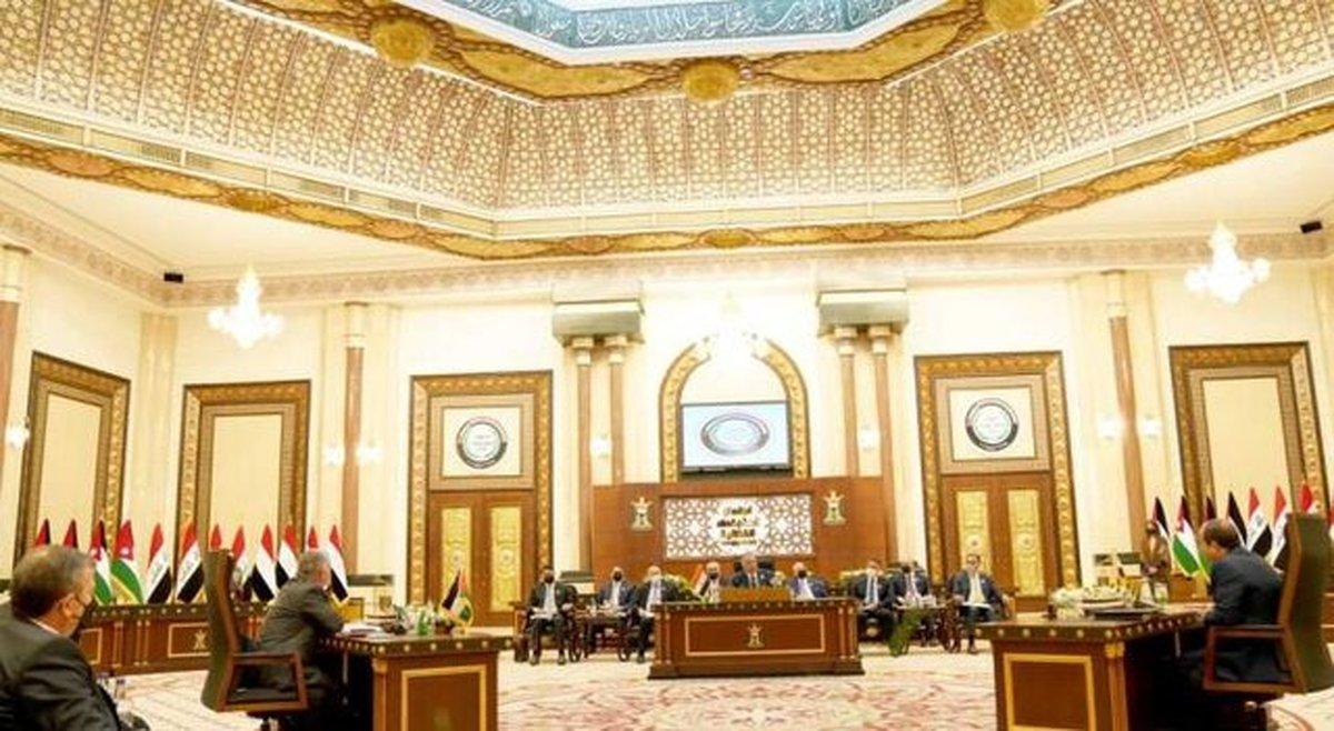 بیانیه پایانی نشست سران عراق، اردن و مصر در بغداد
