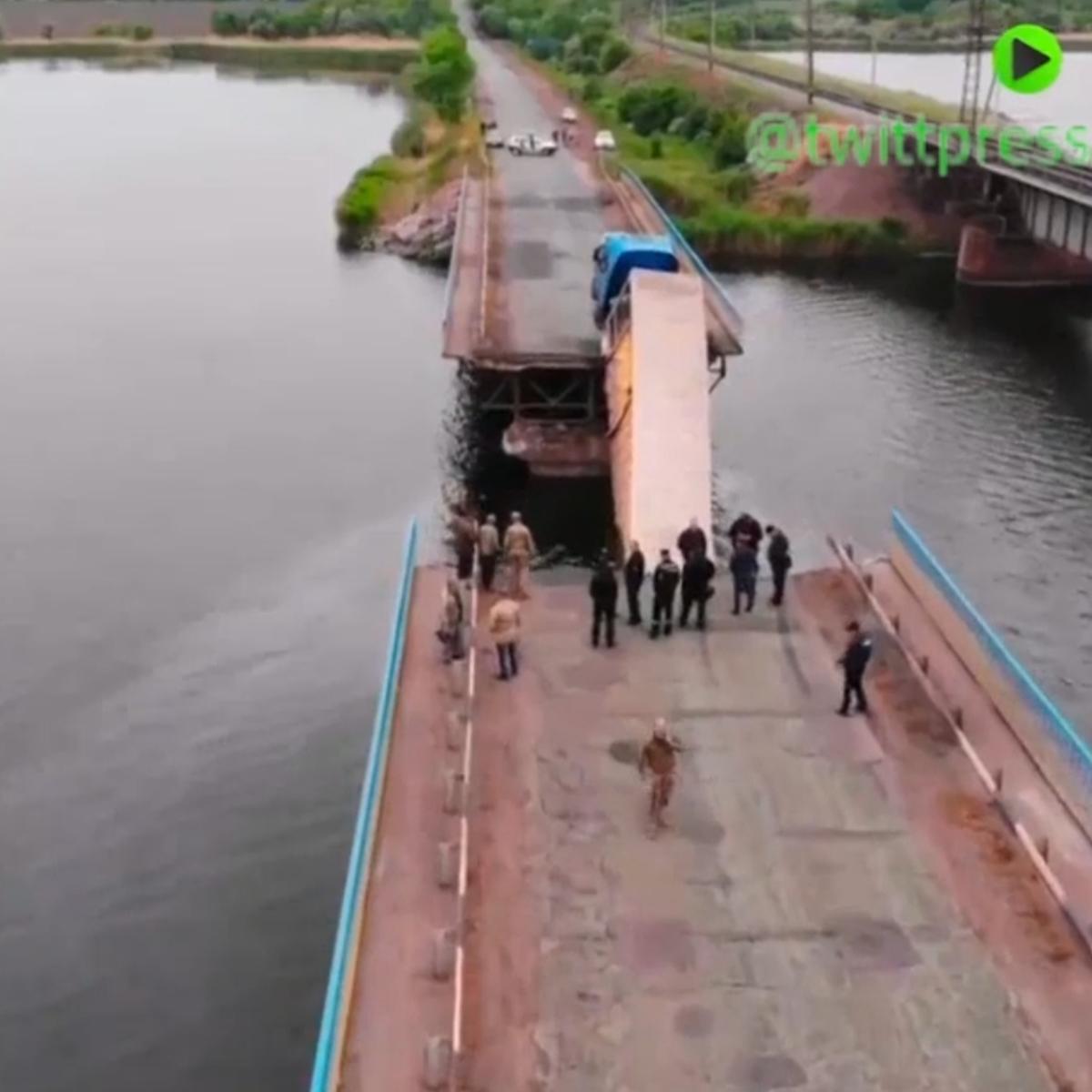 و این بار مهندسان پل ساز اوکراینی!