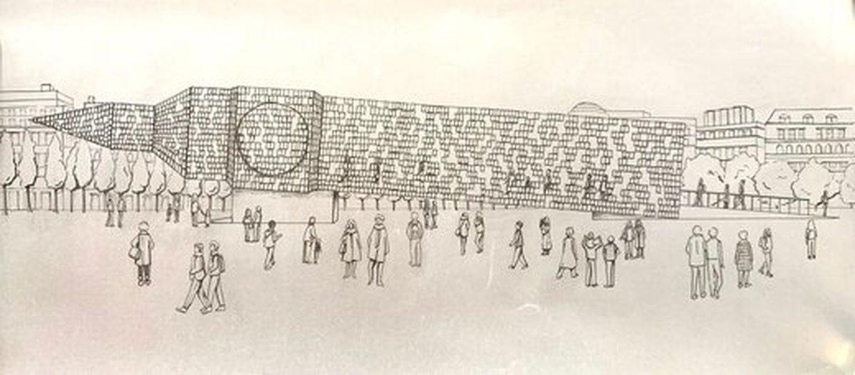 هنرمند آرژانتینی «بیگ بن» را واژگون کرد