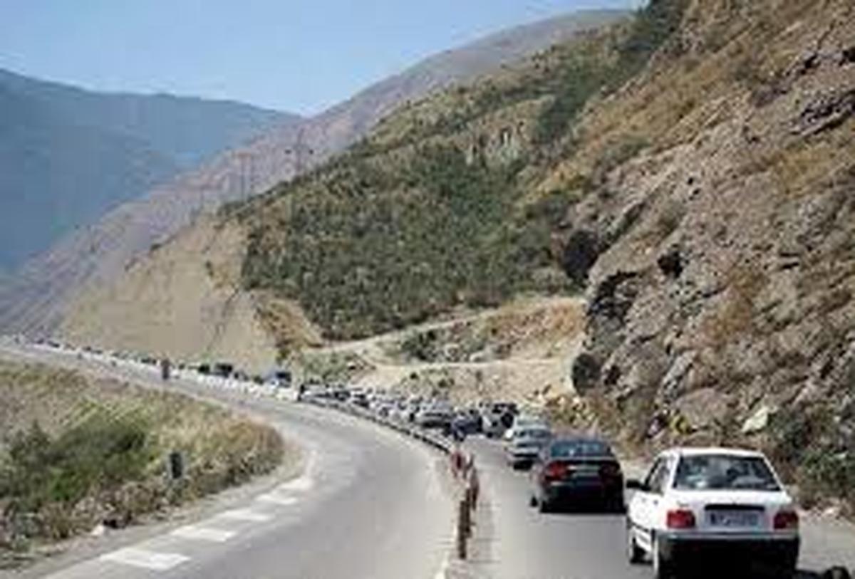 جاده هراز تا اطلاع ثانوی مسدود شد