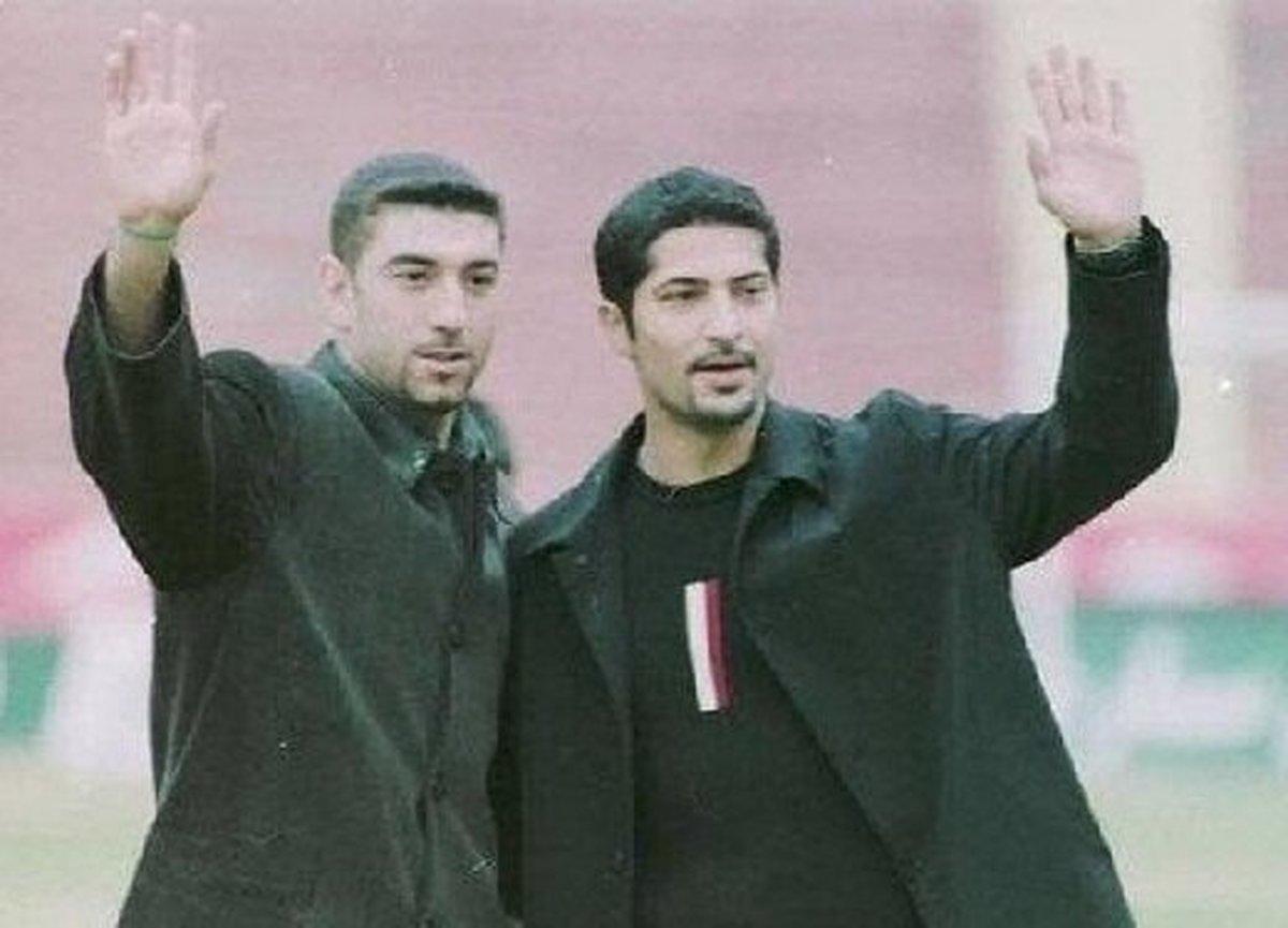 رونمایی از پیراهن تیم منتخب سرخابی به یاد مهرداد میناوند و علی انصاریان