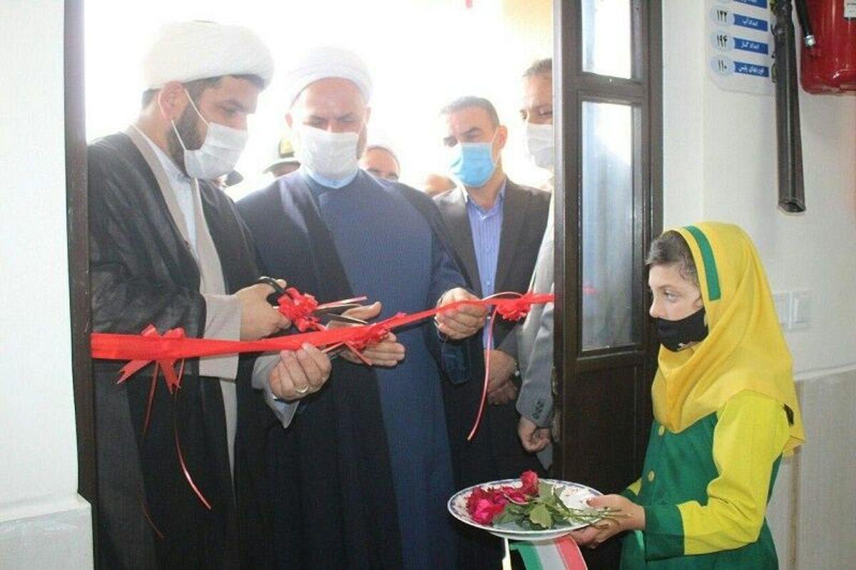 افتتاح سومین مدرسه ساخته شده از فروش کاغذ باطله در تالش