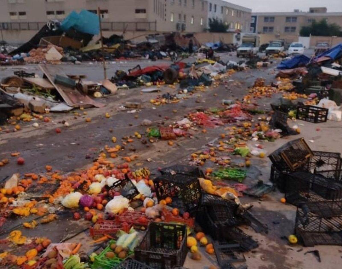 شهرداری اهواز حق برخورد قهری با دستفروشان را ندارد