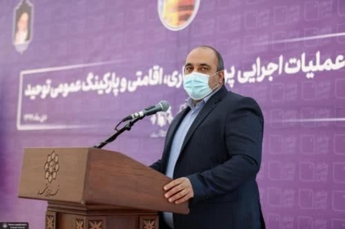 شهردار مشهد: احداث پارکینگ توحید باعث رونق میدان شهدا میشود