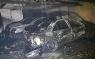 حادثه     آتشسوزی شدید در ساختمان ۳۵ واحدی/ ۴ خودرو در آتش سوخت
