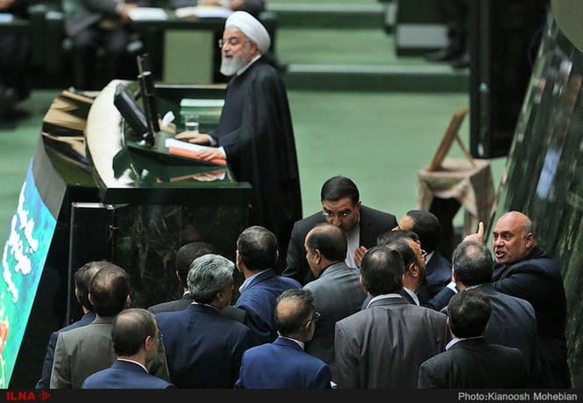 داغ حضور روحانی در مجلس بر دل نمایندگان