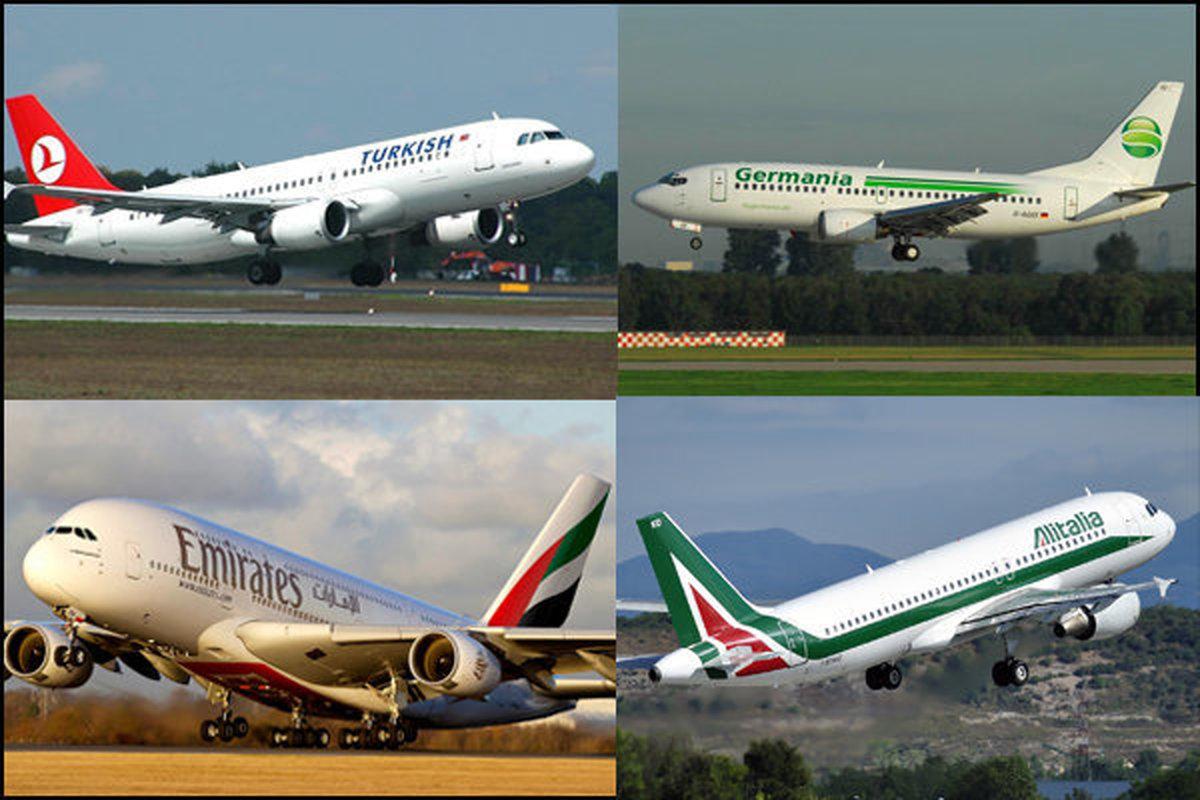 تعداد پروازهای عبوری از آسمان ایران دو برابر شد