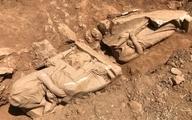 کشف مجسمههای تاریخی در قبری در یونان