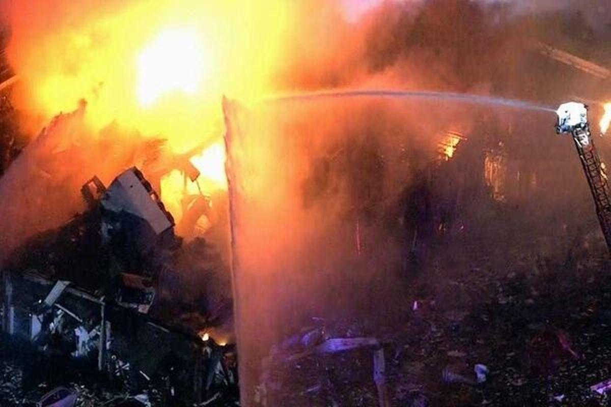 2 کشته در انفجار دیگ ذوب آلومینیوم در شهرستان ری