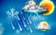 آسمان تهران فردا (۱۱ بهمن) ابری همراه با وزش باد