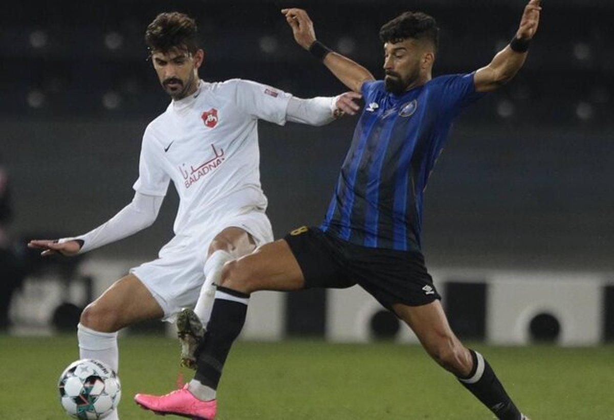 شکست سنگین تیم محمدی برابر السد| رامین پنالتی از دست داد