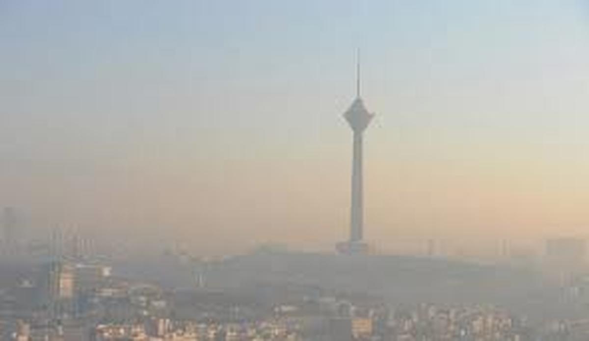کیفیت هوای پایتخت  در وضعیت قرمز قرار گرفت