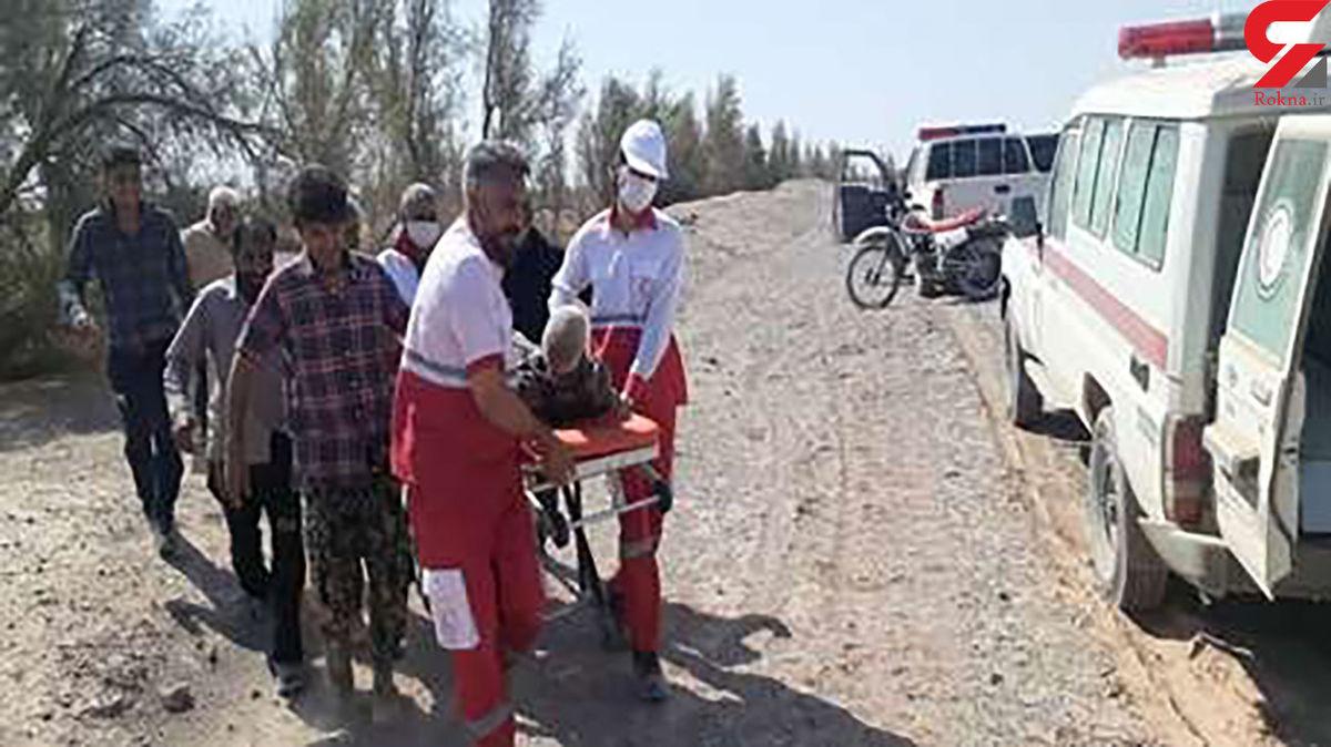 پیرمرد 90 ساله گمشده در کویر کرمان پیدا شد