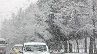 بارش برف و باران و کاهش دما و یخبندان