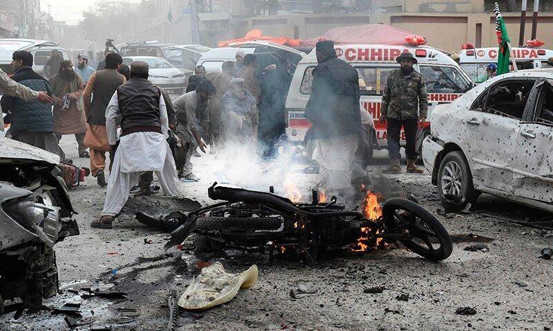 انفجار در پاکستان جان ۹ نفر گرفت