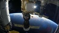 ترک در ایستگاه فضایی بین المللی پیدا شد