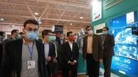 بازدید وزیر ارتباطات و فناوری اطلاعات از غرفه همراه اول