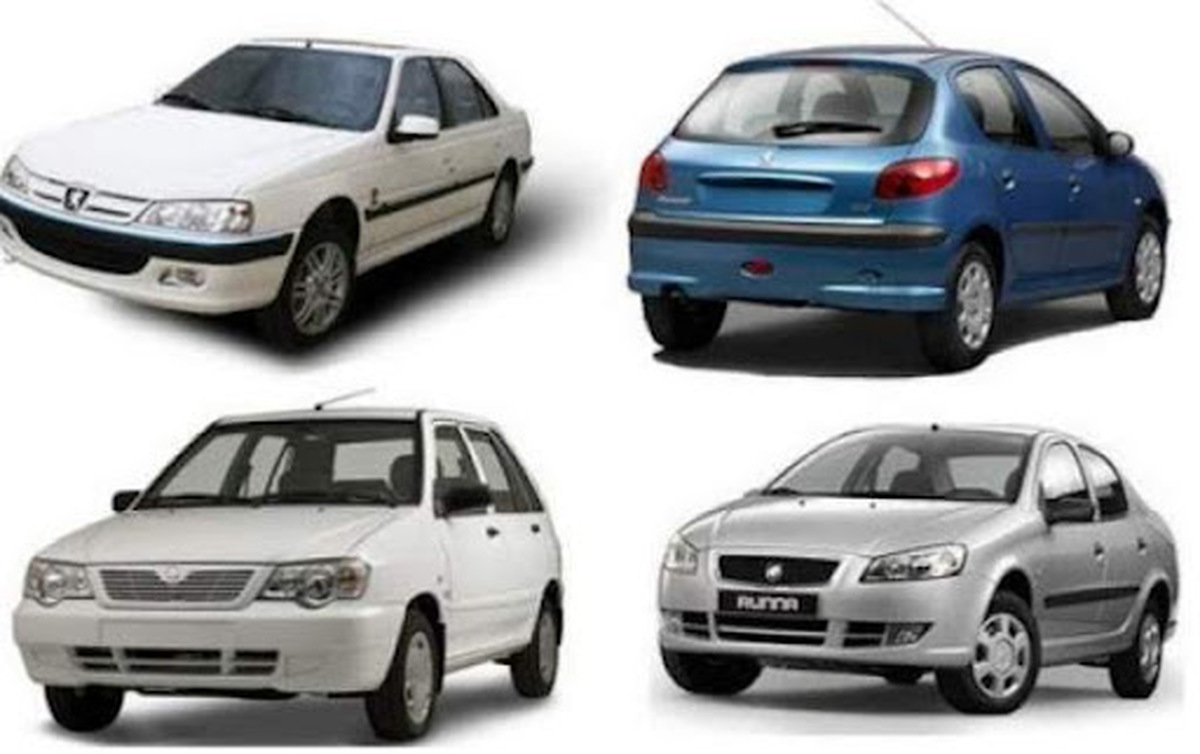 قیمت انواع خودرو داخلی +جدول
