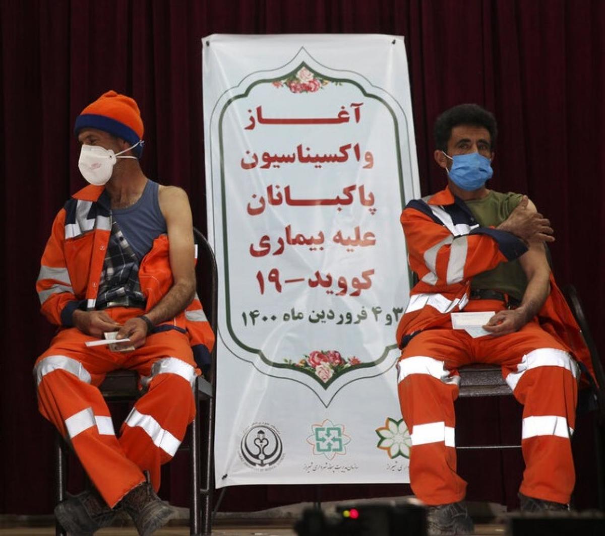 استفاده از سهمیه واکسن پاکبانان؛ این بار در علی آباد کتول