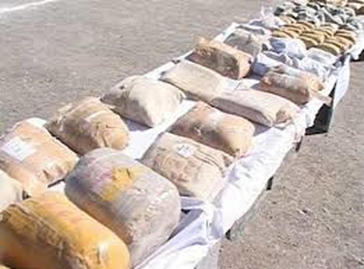 45 تن انواع مواد مخدر در خراسانجنوبی کشف شد