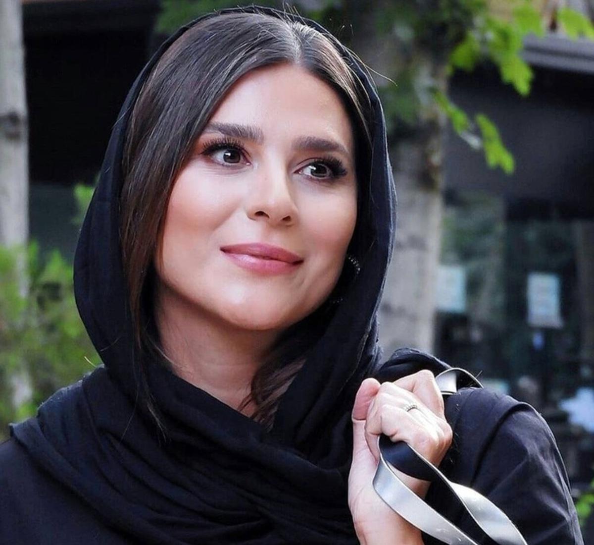 تیپ متفاوت سحر دولتشاهی د ر کنار گلزار و امین حیایی + عکس