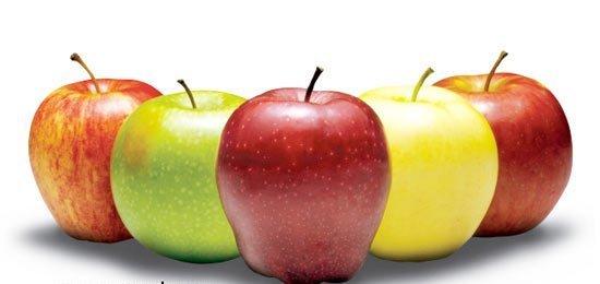 سیب به کاهش وزن شما کمک میکند