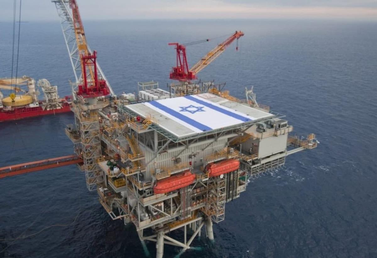 حمله حماس به سکوی گازی اسرائیل