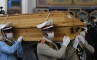 پیکر استاد شجریان به محل خاک سپاری منتقل شد