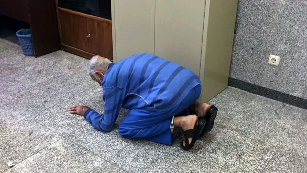 پدر بابک خرمدین بخاطر قتل پسرش شکرگزاری کرد! +عکس