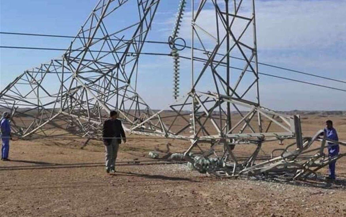 خنثی سازی انفجار دکلهای برق در جنوب موصل + تصاویر