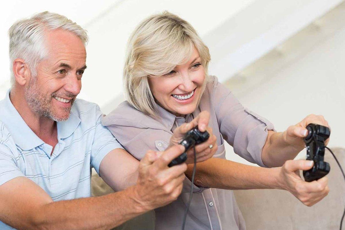 یک مطالعه از افزایش علاقهی افراد مسن به بازی خبر میدهد