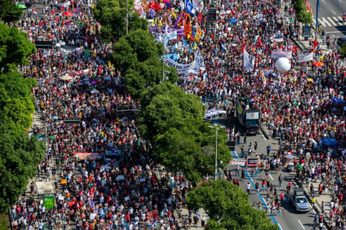 تظاهرات علیه ترامپ برزیل | عکس
